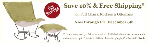 Puff Chairs sale